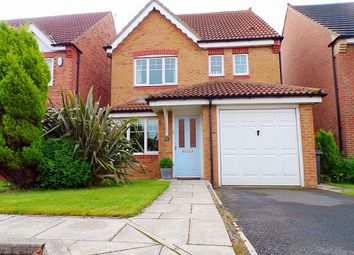Thumbnail 4 bedroom detached house for sale in The Limes, Forest Hall, Newcastle Upon Tyne
