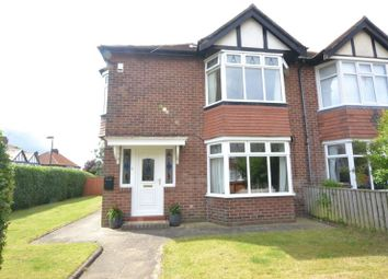 Thumbnail 3 bed semi-detached house for sale in The Uplands, Kenton, Newcastle Upon Tyne