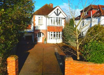 Thumbnail 5 bed detached house for sale in Coleford Bridge Road, Mytchett, Camberley