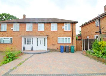 Thumbnail 3 bedroom semi-detached house to rent in Kings Drive, Edgware