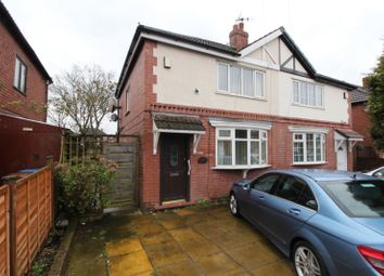Thumbnail 2 bed semi-detached house for sale in Finsbury Road, Reddish, Stockport