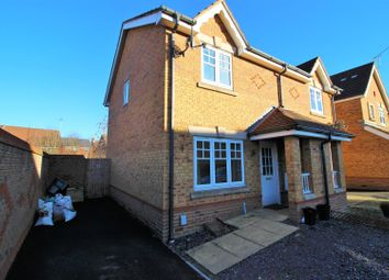 Thumbnail 2 bed semi-detached house for sale in Sigerson Road, Taw Hill, Swindon