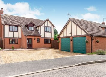 Thumbnail 5 bed detached house for sale in Red Barn, Turves, Peterborough