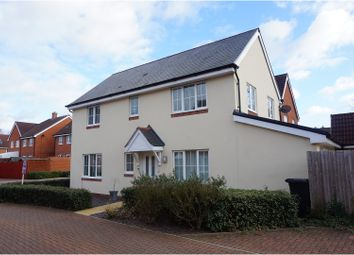 Thumbnail 4 bed detached house for sale in Mill Gardens, West End, Southampton