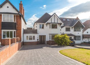 Thumbnail 4 bed detached house for sale in Burman Road, Shirley, Solihull