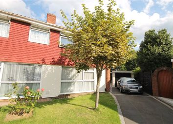 Thumbnail 3 bed semi-detached house for sale in Howard Close, Sunbury-On-Thames, Middlesex