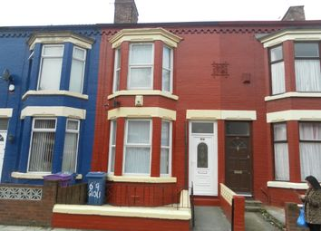Thumbnail 3 bedroom terraced house for sale in Gloucester Road, Tuebrook