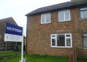 Thumbnail 2 bed semi-detached house for sale in Sefton Road, Ashton-In-Makerfield, Wigan
