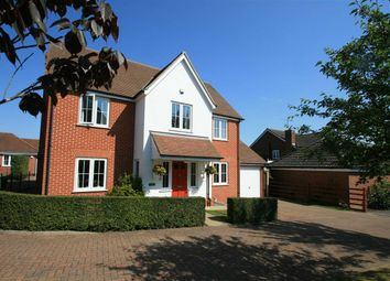 Thumbnail 4 bed detached house for sale in The Paddocks, Tuddenham, Ipswich, Suffolk