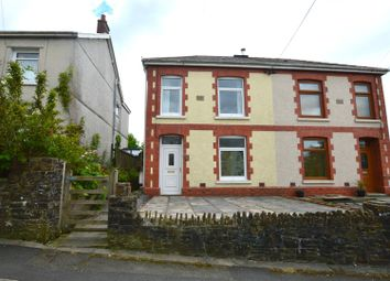 Thumbnail 2 bed semi-detached house for sale in Llwyn Road, Cwmgors, Ammanford