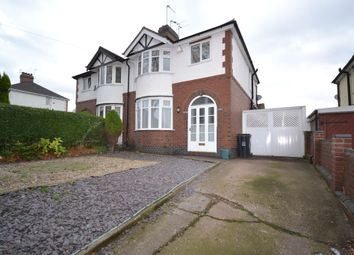 Thumbnail 3 bed semi-detached house to rent in Lower Milehouse Lane, Milehouse, Newcastle
