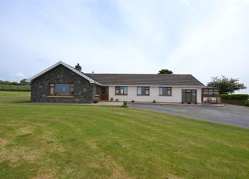 Thumbnail 4 bed detached bungalow for sale in Dinas Cross, Newport