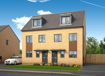Thumbnail 3 bed semi-detached house to rent in Bamburgh, Yew Gardens, Edlington, Doncaster