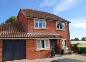 Thumbnail 4 bedroom detached house for sale in Long Lane, Strumpshaw, Norwich