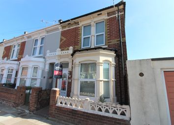 Thumbnail 3 bed end terrace house for sale in Wallington Road, Portsmouth