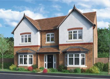 "Thumbnail 5 bed detached house for sale in ""Kedleston"" at Burton Road, Streethay, Lichfield"