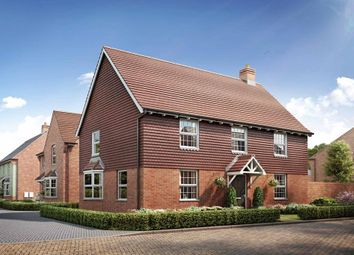"Thumbnail 4 bed detached house for sale in ""Cornell"" at Broughton Crossing, Broughton, Aylesbury"