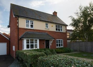 Thumbnail 4 bedroom detached house for sale in Watson Close, Northampton, Northamptonshire