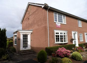 Thumbnail 2 bed flat for sale in 21 Croft Park, Wetheral, Carlisle, Cumbria