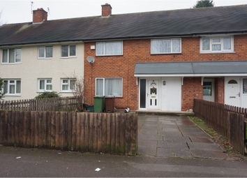 Thumbnail 3 bed terraced house for sale in Haselour Road, Birmingham