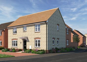 "Thumbnail 4 bed detached house for sale in ""The Kempthorne"" at Moormead Road, Wroughton, Swindon"