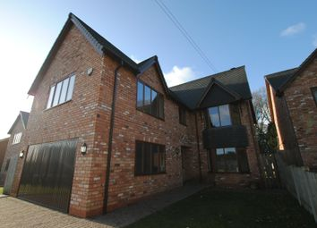 Thumbnail 5 bed detached house for sale in Christchurch Lane, Market Drayton
