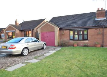 Thumbnail 2 bed semi-detached house for sale in Badger Way, Broughton, Brigg