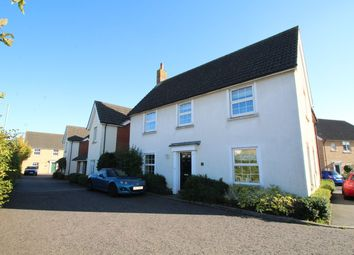Thumbnail 4 bedroom detached house for sale in Shearwater Way, Stowmarket