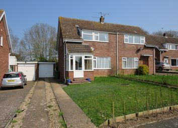 Thumbnail 3 bed semi-detached house for sale in Hemmant Way, Gillingham, Beccles