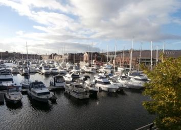 Thumbnail 2 bed flat to rent in Abernethy Quay, Marina, Swansea. 1F