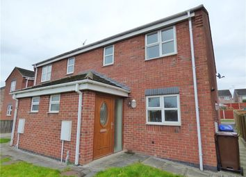 Thumbnail 2 bed semi-detached house for sale in Doval Gardens, Tean, Stoke-On-Trent