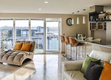 Thumbnail 3 bed flat for sale in Victoria Wharf, Watkiss Way, Cardiff