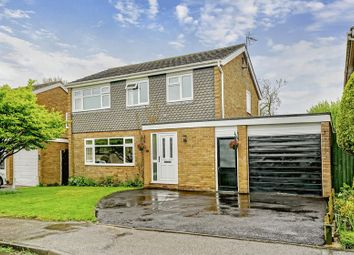 Thumbnail 4 bed detached house for sale in Roundhouse Drive, Perry, Cambridgeshire.