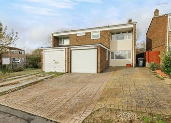 Thumbnail 3 bed semi-detached house for sale in Burden Close, Stratton, Swindon