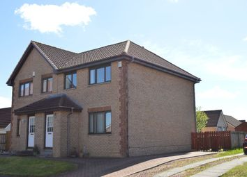 Thumbnail 3 bed semi-detached house for sale in Kippford Place, Chapelhall, Airdrie