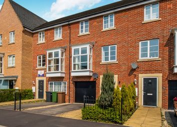 Thumbnail 3 bedroom town house for sale in Molyneux Square, Hampton Vale, Peterborough