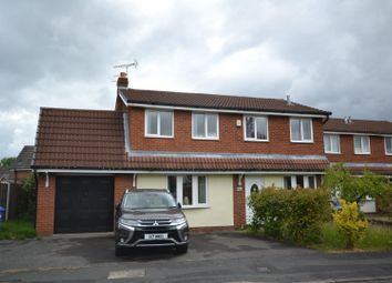 Thumbnail 4 bed detached house for sale in Willoughby Close, Old Hall, Warrington