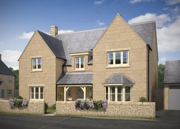 Thumbnail 5 bed detached house for sale in Station Road, Bourton-On-The-Water, Gloucestershire
