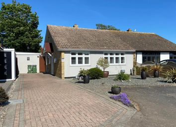 Thumbnail 2 bed semi-detached bungalow for sale in Woodland Way, Dymchurch, Romney Marsh, Kent