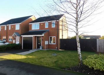 Thumbnail 3 bed detached house for sale in Fieldhouse Way, Stafford