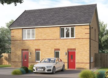 """Thumbnail 2 bed semi-detached house for sale in """"The Baybridge"""" at Chilton, Ferryhill"""