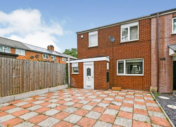 Thumbnail 2 bed end terrace house for sale in Scarborough Close, Walsall