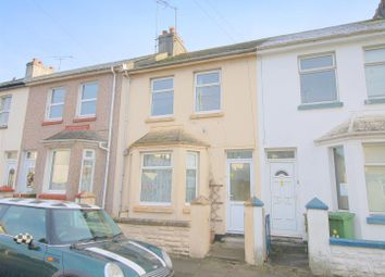 Thumbnail 3 bed terraced house for sale in Tresluggan Road, Plymouth