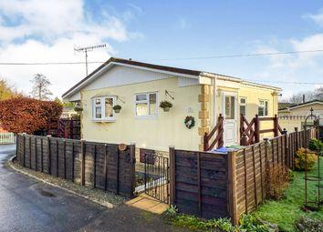 Thumbnail 1 bedroom mobile/park home for sale in Heath Farm Park, Barford St. Martin, Salisbury