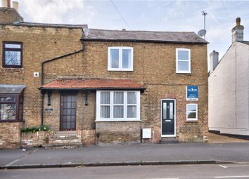 Thumbnail 2 bedroom end terrace house for sale in Great North Road, Eaton Socon, Cambridgeshire