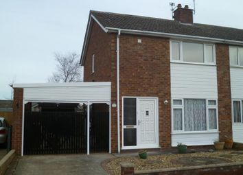 Thumbnail 3 bed semi-detached house to rent in Horner Close, Lincoln