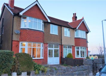 Thumbnail 4 bed semi-detached house for sale in Station Road, Old Colwyn