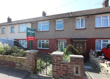 Thumbnail 3 bed terraced house for sale in Woodlands Road, Gillingham, Kent