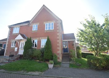 Thumbnail 3 bed semi-detached house to rent in Banks Close, Hadleigh, Ipswich