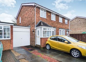 Thumbnail 3 bed semi-detached house for sale in Alston Road, New Hartley, Whitley Bay